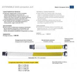 CONEXION GAS EXTENSIBLE 75...